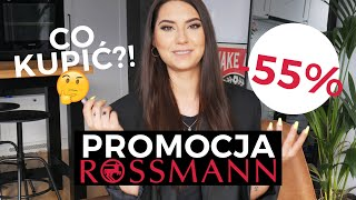 Co kupić na promocji -55% w Rossmanie?! / WIOSNA 2019 /