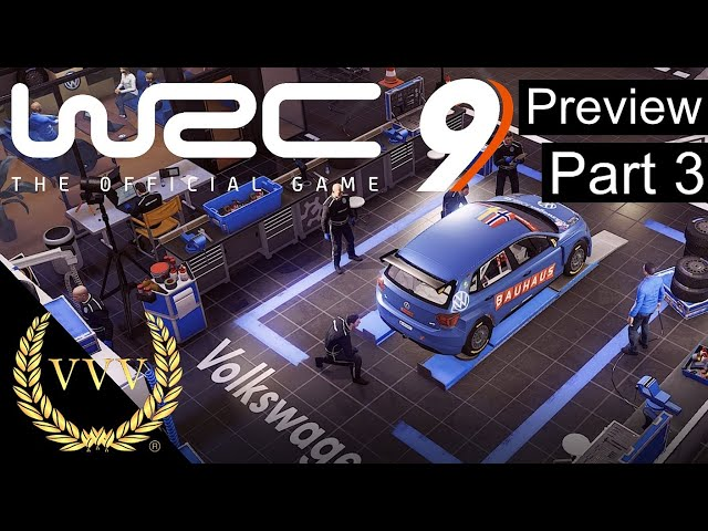 WRC 9 - Preview Part 3 - Career