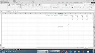 شرح برنامج اكسيل  2013 Excel من البداية للاحتراف في فيديو واحد