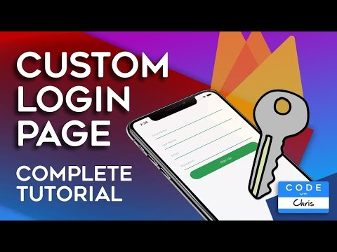 Firebase Authentication Tutorial 2020 - Custom IOS Login Page (Swift)