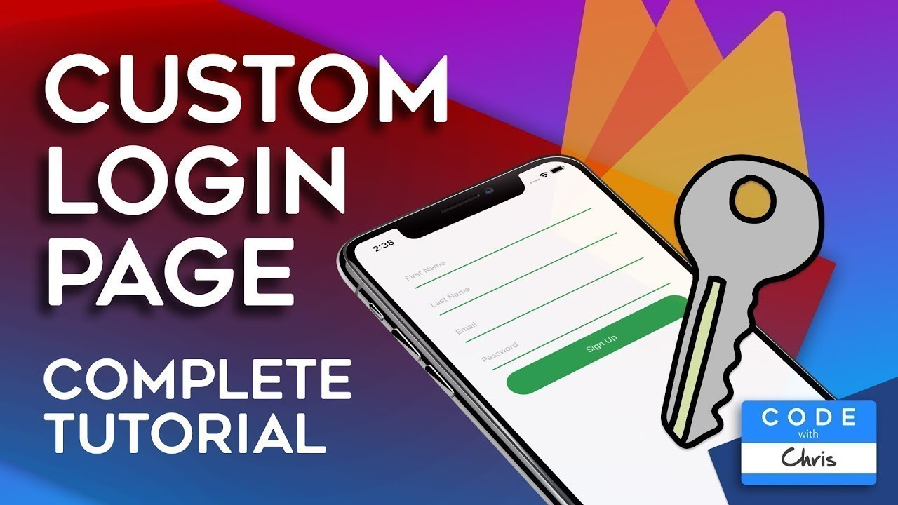Firebase Authentication Tutorial 2020 - Custom iOS Login Page (Swift)
