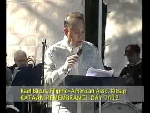 Bataan Remembrance Day 2012 - Part 1