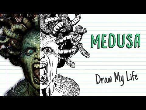 the-incredible-legend-of-medusa-|-draw-my-life