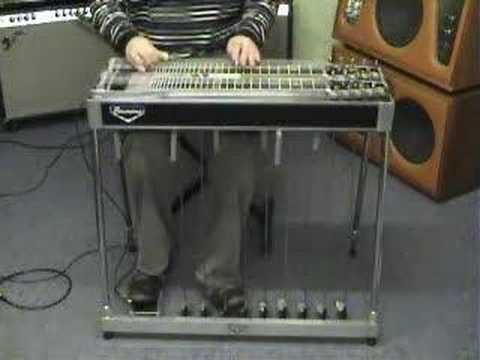 Pedal Steel Guitar - Birth Of The Blues (on C6)