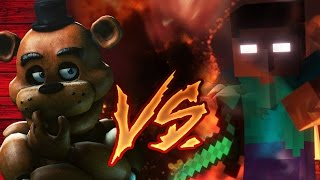 Repeat youtube video FREDDY FAZBEAR VS HEROBRINE | FACE TO FACE | ZARCORT Y KRONNO