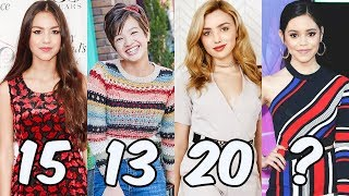Disney Girls From Youngest To Oldest