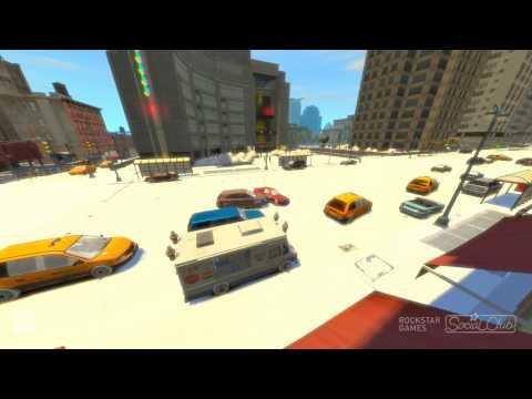 Grand Theft Auto IV | Snow Mod v2.0 - Crashes!