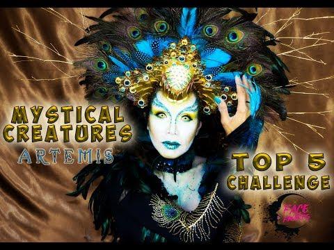 MYSTICAL CREATURES (ARTEMIS) | FACE AWARDS NL 2017 | Top 5 Challenge