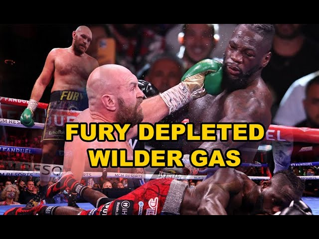 TYSON FURY ENDED DEONTAY WILDER DREAMS - GAS DEPLETED!