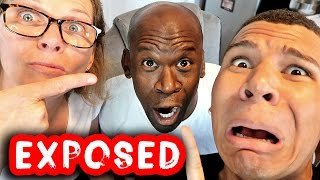 MY DAD'S FACE EXPOSED!! (WHY HE HIDES IT)