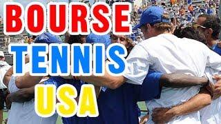 Reportage sur le Sport Universitaire aux Etats-Unis   Bourse Sportive Tennis aux USA