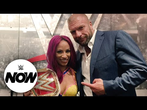 Sasha Banks cancels Triple H's birthday: WWE Now