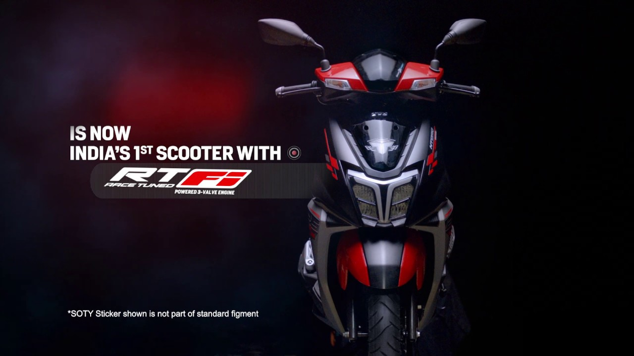 TVS Ntorq Race Edition 2020 - BSVI variant with RTFi (Race Tuned Fuel injection)