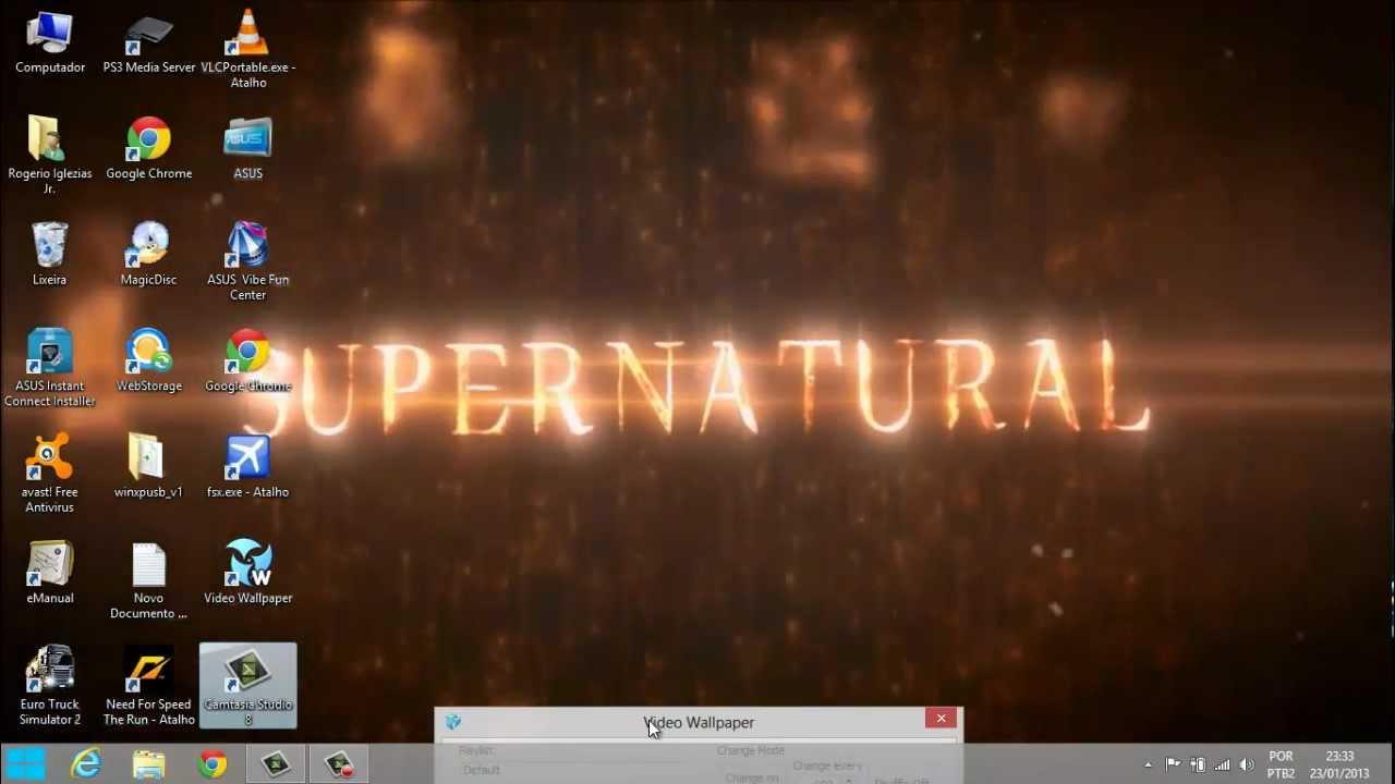 Supernatural E The Walking Dead Como Papel De Parede Com Dreamscene