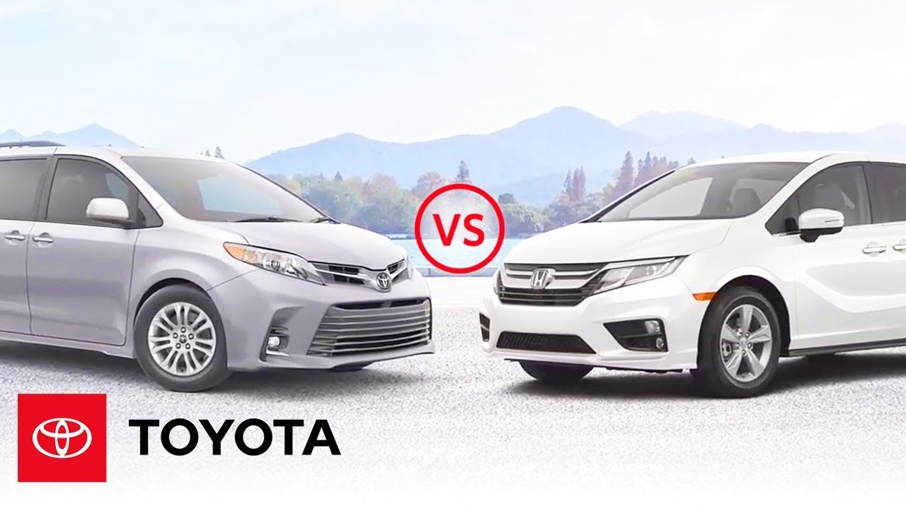 30+ Honda Odyssey 2020 Toyota Sienna Images
