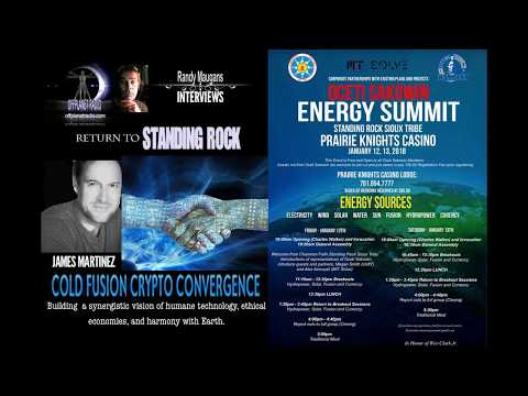 James Martinez: Return To Standing Rock- Convergence Cold Fusion Cryptos