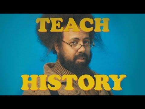 Reggie Watts - TEACH: HISTORY