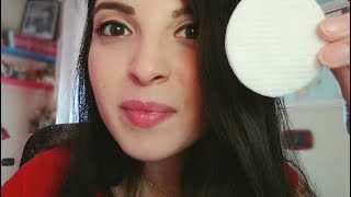 ASMR ita: Roleplay Massaggio e Pulizia del Viso 💆🏻 || Hand Movements & Water Sounds