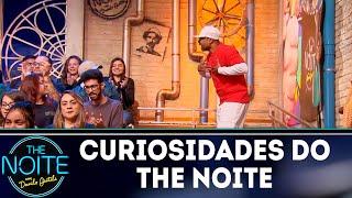 Curiosidades do The Noite: Buchecha é o Liminha do programa | The Noite (13/11/18)