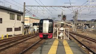 名鉄2200系+3150系快速特急 国府通過