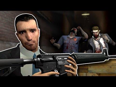 LEFT 4 DEAD Zombies?! - Garry's Mod Gameplay - Gmod Zombie Survival