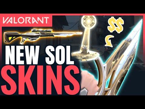 VALORANT | New SENTINELS OF LIGHT Skins - New Guns, Finisher & Melee Gameplay