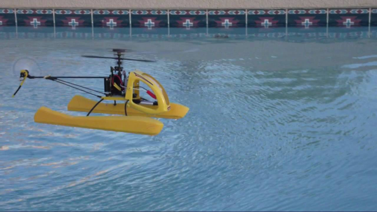 Mia H2o Helicopter Floats Ver 2 Blade 120sr Youtube