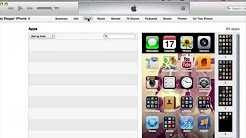 How to Update iPhone Apps Via iTunes : Help With iTunes