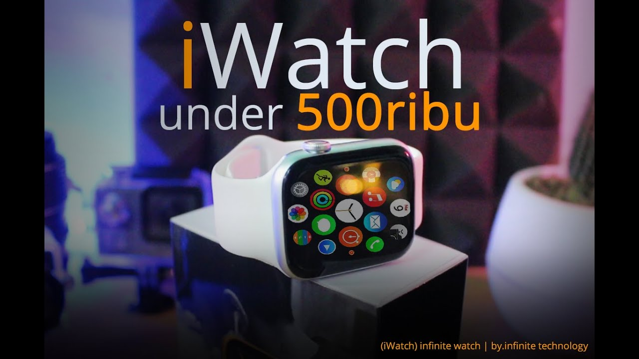 Download OMG.!! iWatch under 500 ribu Unboxing & Review infinite Watch 6 Lite