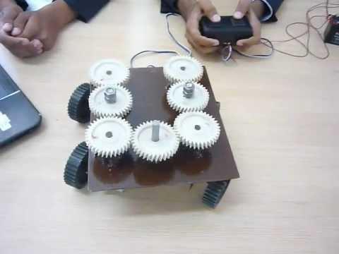 4 wheel steering mechanism