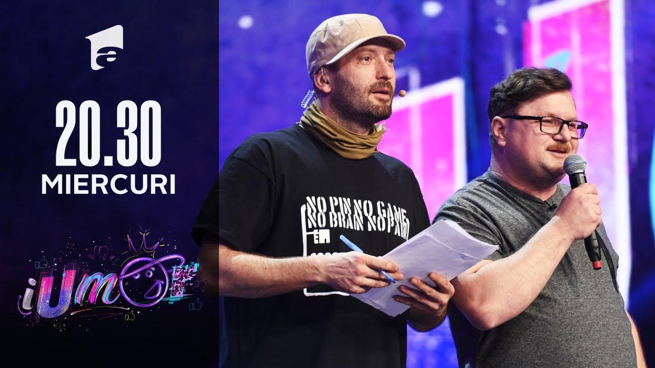 iUmor 2021 | Radu Carbon, număr de stand-up la care a râs și concurentul
