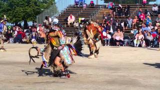 Indian Summer Powwow 2015 -Teen Boys Traditional