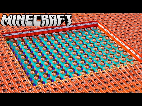Thumbnail: MINECRAFT STEVE VS. 10,000 TNT!