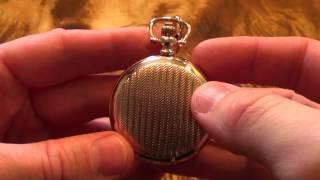Обзор кварцевых карманных часов Omax