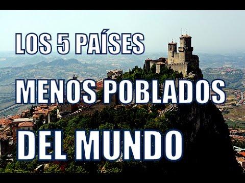 Los 6 pa ses menos poblados del mundo youtube for Oficina de extranjeria avenida de los poblados