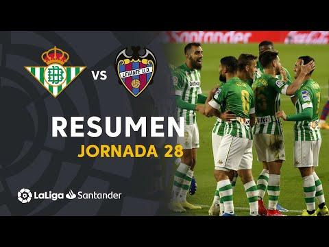 Resumen de Real Betis vs Levante UD (2-0)