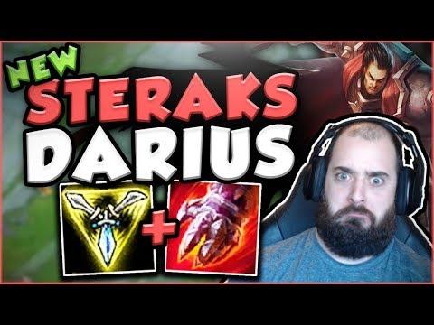 NEW STERAKS GAGE MAKES DARIUS SO MUCH MORE OPPRESSIVE! DARIUS TOP GAMEPLAY! - League Of Legends