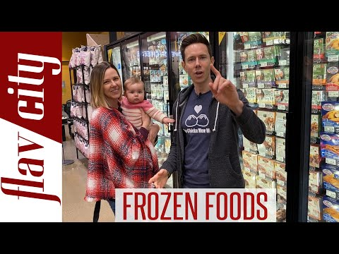 The HEALTHIEST Frozen Foods At The Grocery Store