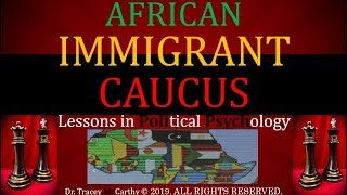 African Immigrant Caucus & ADOS/TheIndians |RE: Dr. Boyce Watkins/Yvette Carnell/Phoenix Moon/Wu
