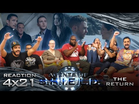Agents Of Shield - 4x21 The Return - Group Reaction