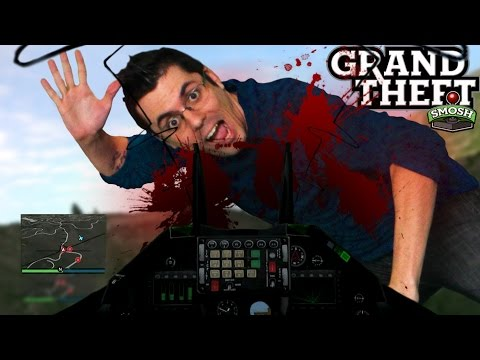 FIRST PERSON TOP FUN IN GTA 5 (Grand Theft Smosh)
