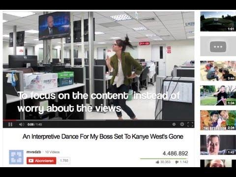 Journalistin tanzt ihre Kündigung