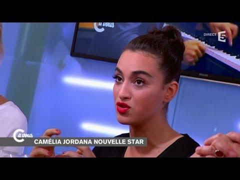 Camélia Jordana livre le secret de sa jolie voix - C à vous - 17/09/2014