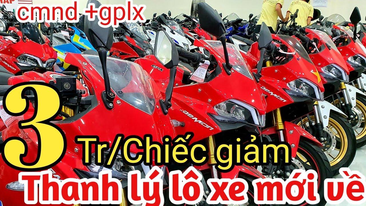 Xmgr -  Lô Moto Thanh Lý Mới Về Cbr250,r15v3,gsx,giảm 3,9tr