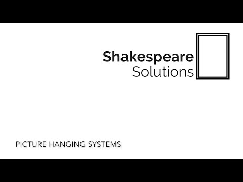 Picture Hanging Systems by Shakespeare Solutions
