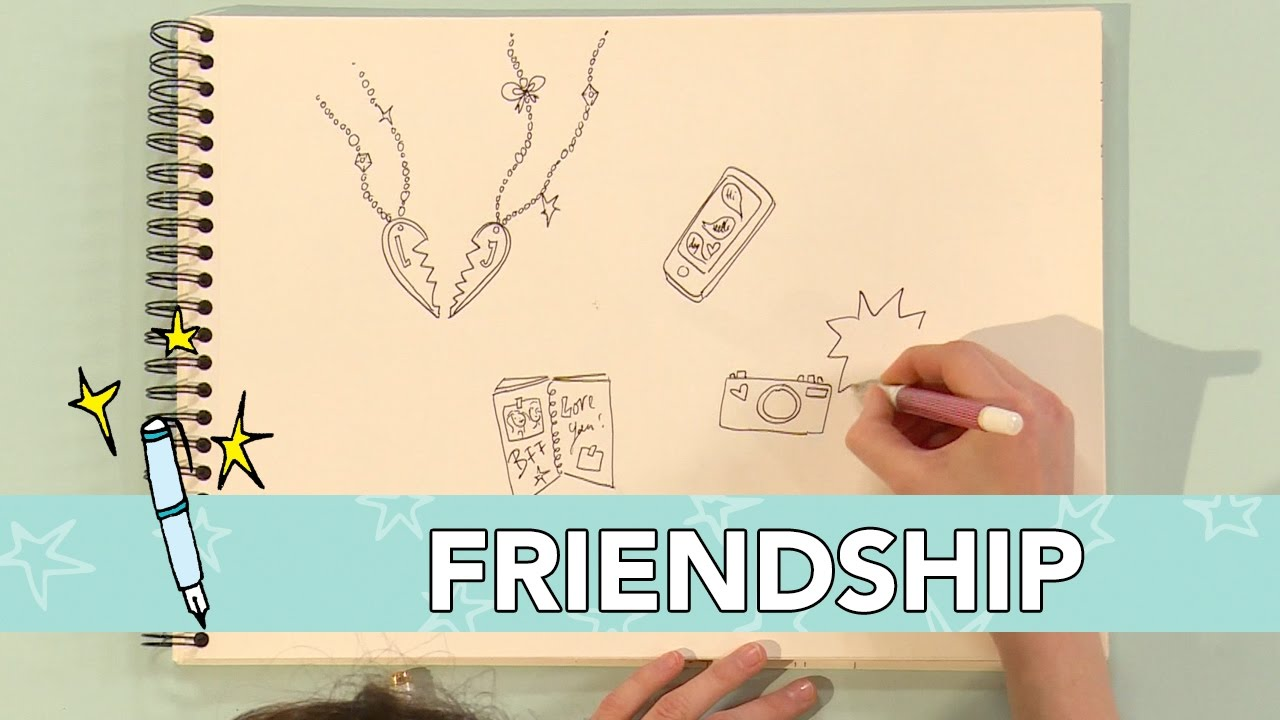 Jill Diy Friendship Tekenen Youtube