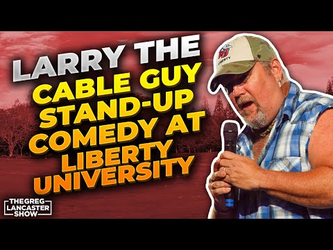 Larry The Cable Guy Stand-Up Comedy at Liberty University & His Awesome TestimonyII VFNtv II