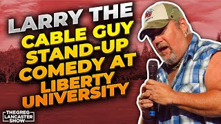 Download Larry The Cable Guy Stand-Up Comedy at Liberty University & His Awesome Testimony  II VFNtv II Mp3 and Videos