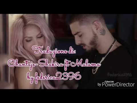 Traduzione Di:Chantaje Shakira Ft Maluma