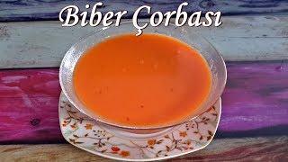 Biber Çorbası Tarifi - Kırmızı Kapya Biber Çorbası